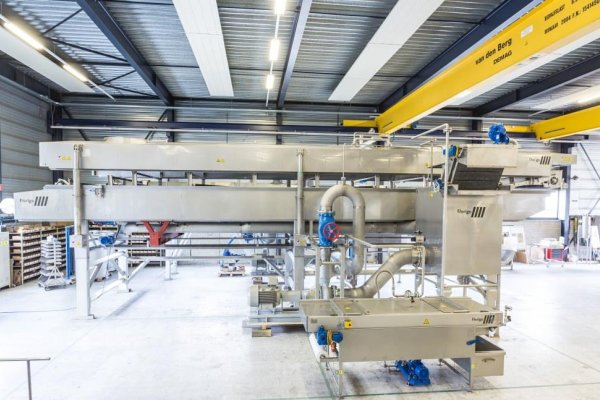 Florigo shows its strengths with new high performance 25 t/h fryer