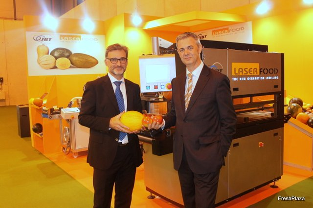 Laser Food's laser mark labelling technology of fresh fruits and vegetables expands internationally