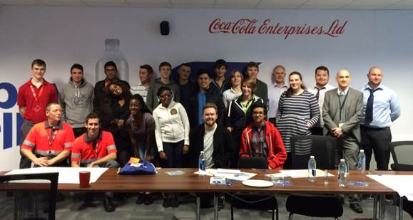 Coca-Cola Enterprises gives UK students an insight into engineering
