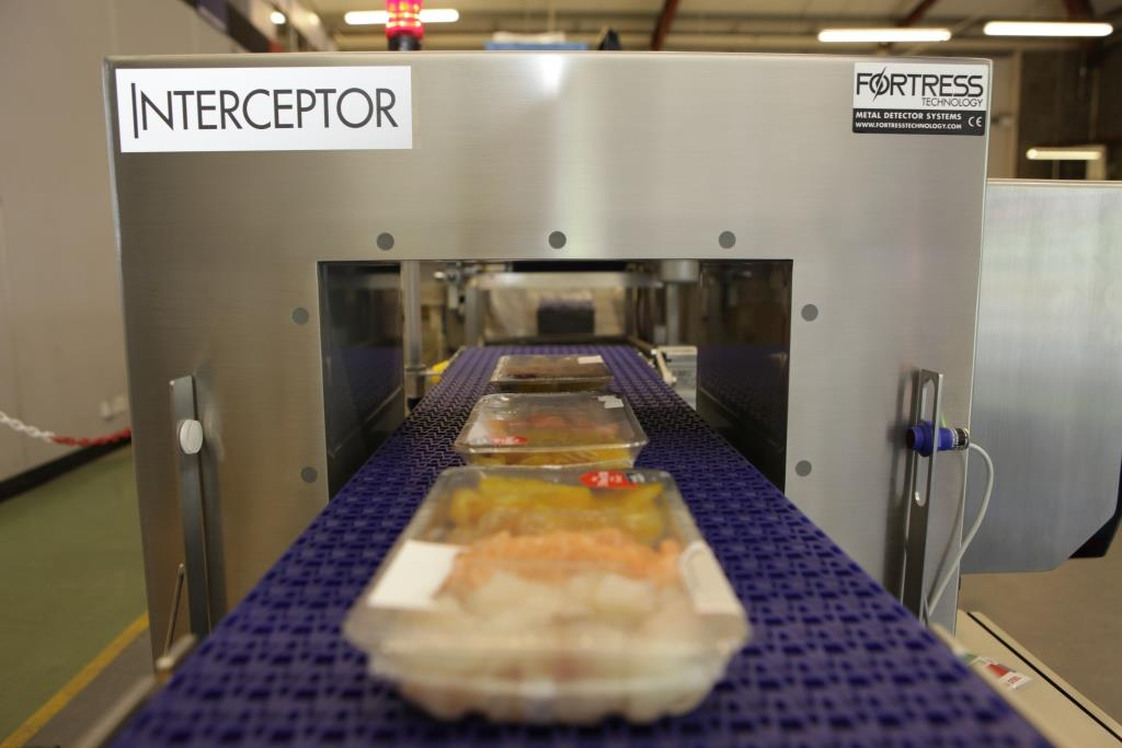 New Interceptor makes waves in wet food inspection
