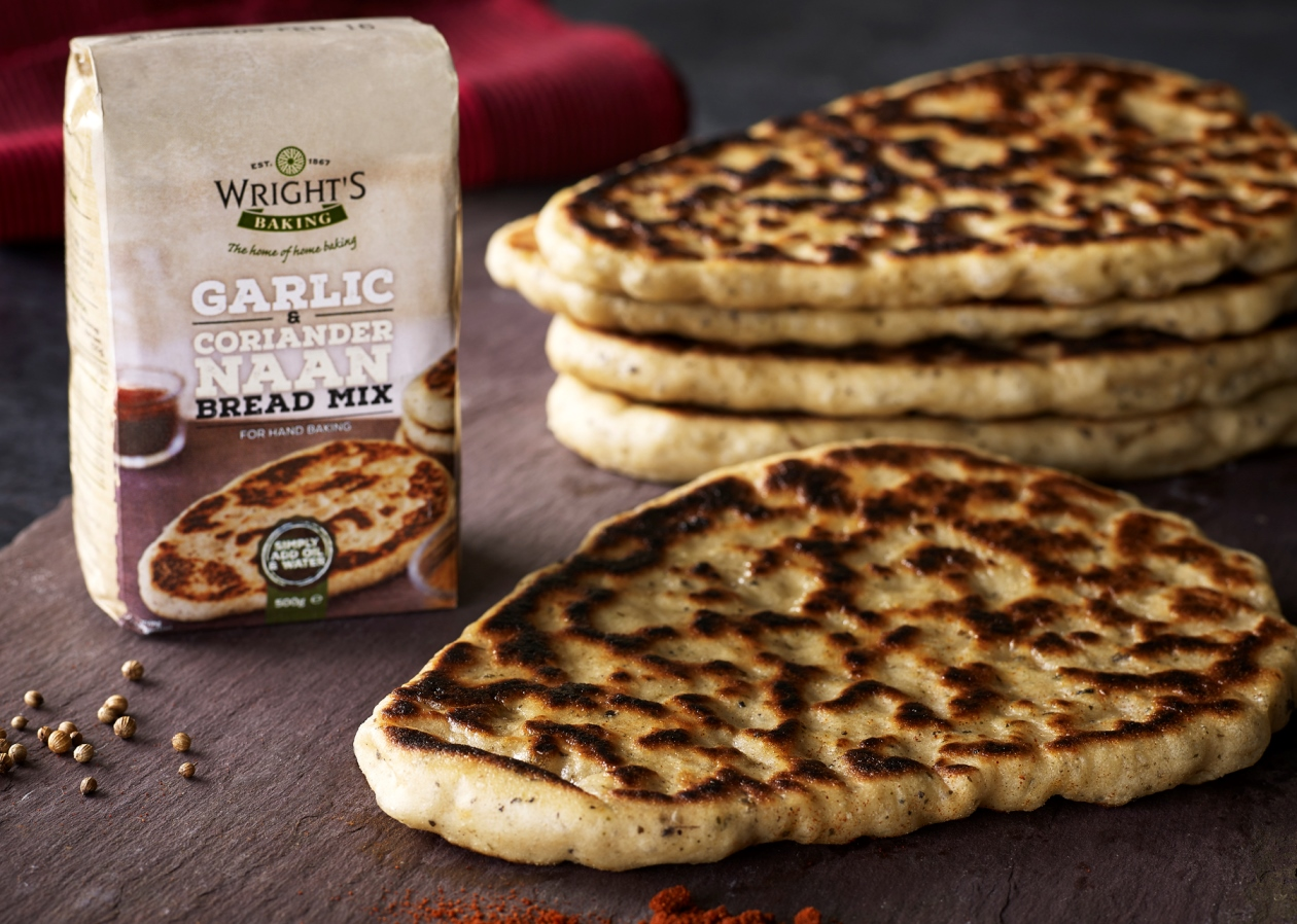 G.R. Wright introduces new bread mix packaging
