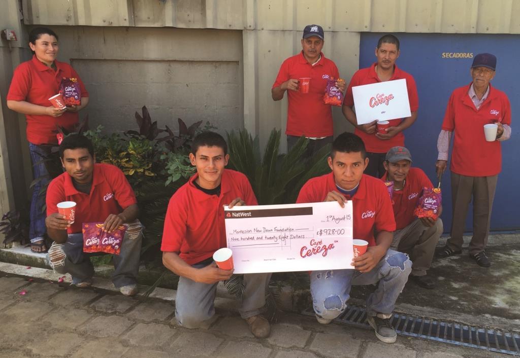Cafe Cereza to give profit percentage to El Salvadorian producer foundation