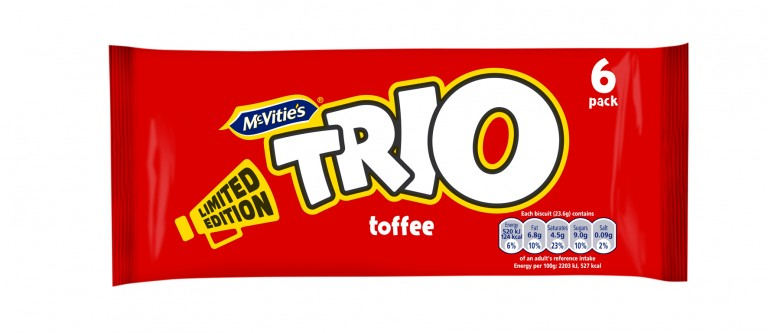 United Biscuits relaunches iconic Trio brand