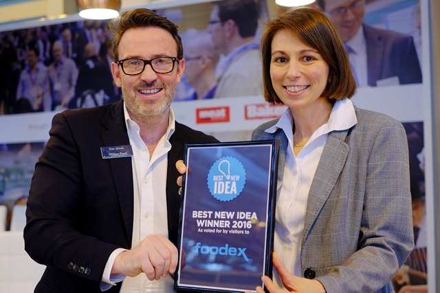 Addmaster awarded Best New Idea accolade at Foodex 2016