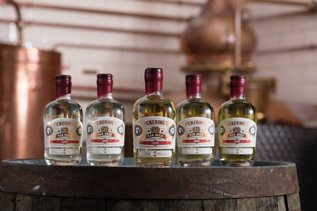 Gin meets whisky: Pickering's launches world first oak-aged collection