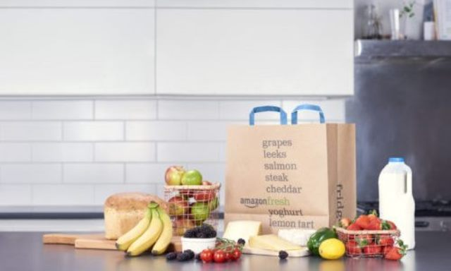 Amazon rolls out fresh food delivery in UK