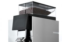 Most compact bean-to-cup coffee machine launches in UK market