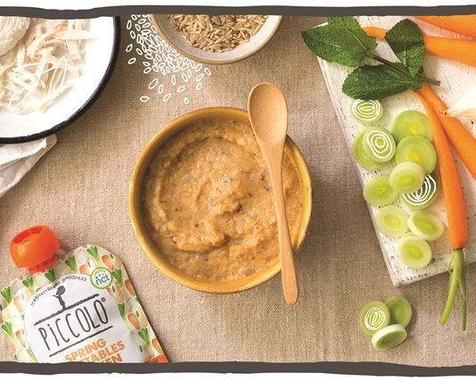 Piccolo launch stage two of Mediterranean baby food range