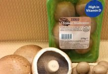 Tesco launch vitamin D enriched mushrooms