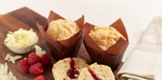 Flower & White partner with i2r for muffin wraps