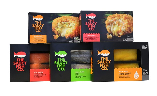 Saucy Fish Co. debut first frozen fish range