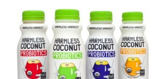 Harmless Harvest launches new line of probiotic coconut beverages
