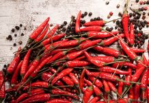 Eating chillies leads to longer life