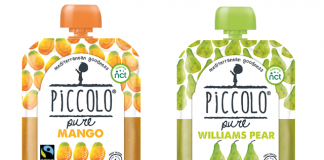 Organic baby food brand introduce fruit pouch range