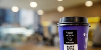 New paper cup comes with digitalised connection to go