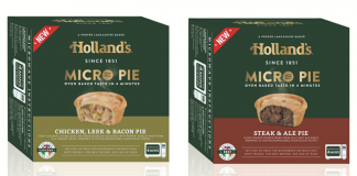 Holland's celebrates National Pie Week with new range