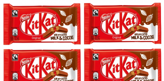 New recipe lowers sugar in KitKats