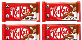New recipe lowers sugar in KitKats