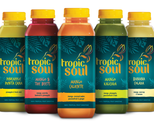 Tropicsoul introduce natural drinks range to the UK