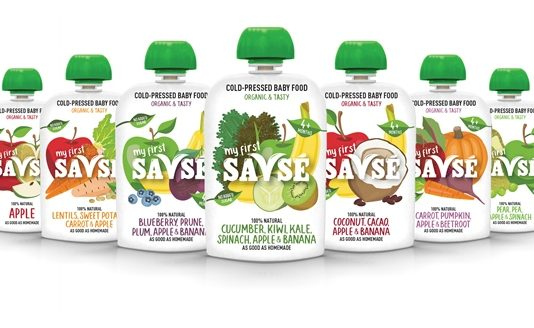 Smoothie brand launches Europe's first cold-pressed baby food