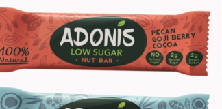 Low sugar start-up launches new snack bars