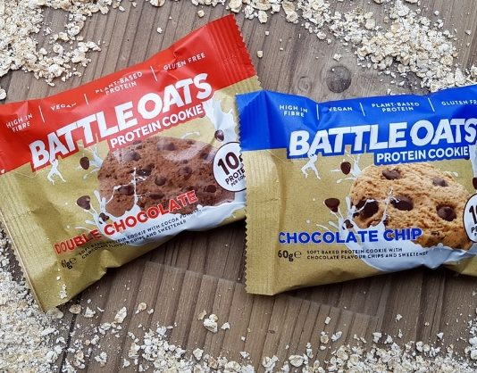 Battle Oats launch world's first plant-based protein cookie