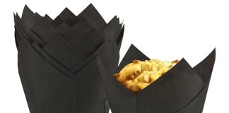 i2r unveils black 'tuxedo' tulip muffin wrap