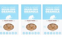 Paleo Foods launches first vegan grain-free granola