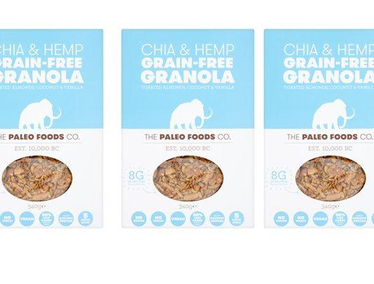 Paleo Foods launches first vegan grain-free granola