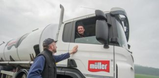 Müller shuttering production at Derbyshire dairy