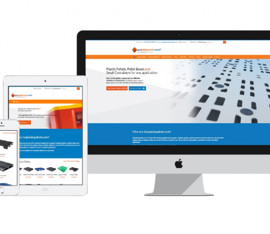 Goplasticpallets.com reinforce supplier credentials with new website launch