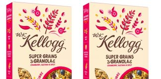 Kellogg's launches plant-based cereal range