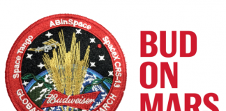 Budweiser readying launch to International Space Station