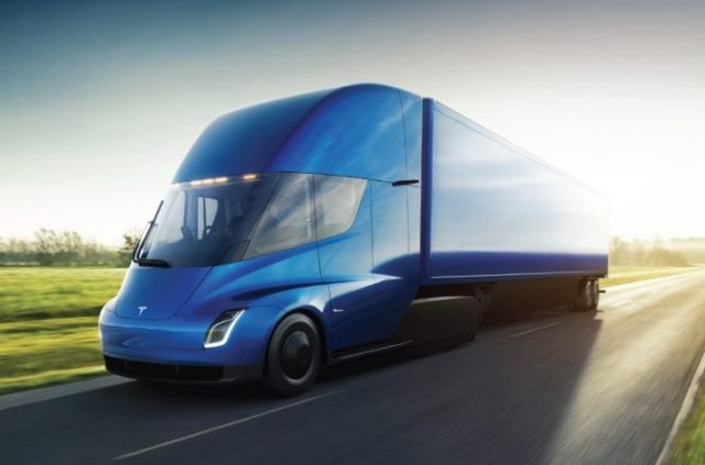 Anheuser-Busch Orders Fleet Of Tesla Electric Trucks