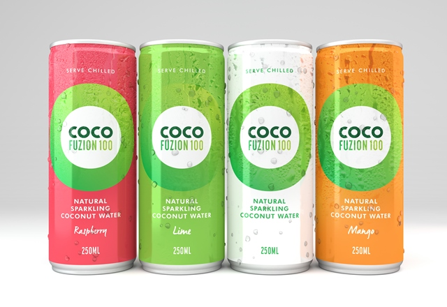 Supermarket listing for UK's first carbonated coconut water