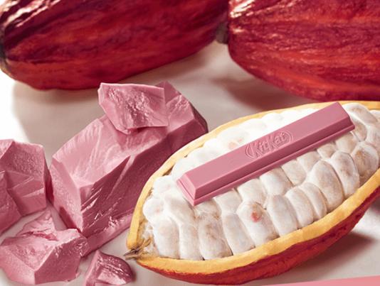 Nestlé launch Ruby chocolate KITKAT