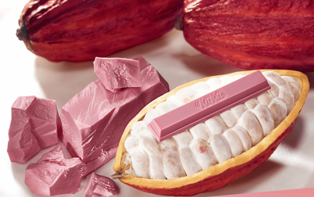 Nestle launches KitKat with ruby chocolate in Japan