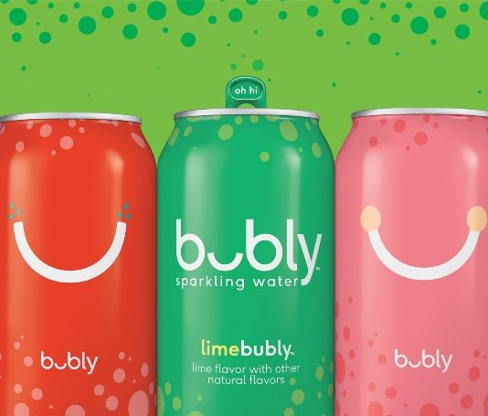 PepsiCo 'shake up' sparkling water category with bubly launch