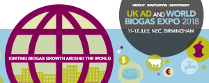 UK AD & Biogas – events – July 2018