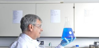 Biotech making natural blue food colourant opens new facility