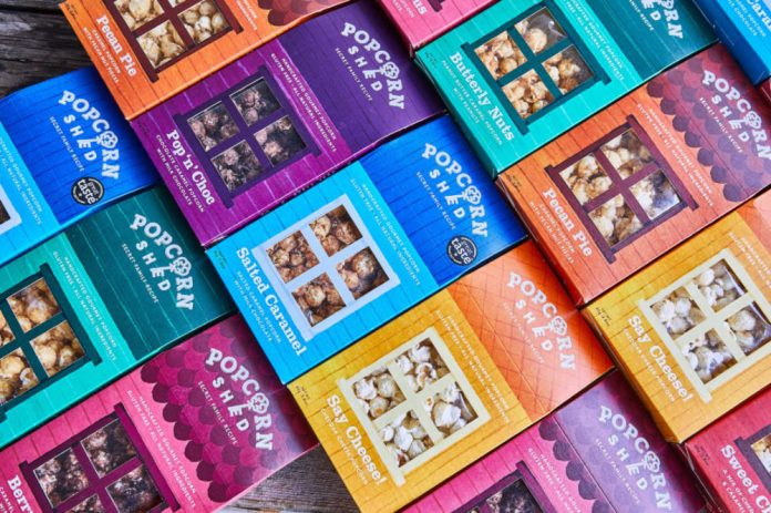 Qualvis' new pack design drives sales for Popcorn Shed