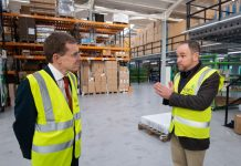 Kite Packaging welcome West Midlands Mayor to Coventry site