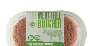 Aldi launches own-brand bleeding vegan burger