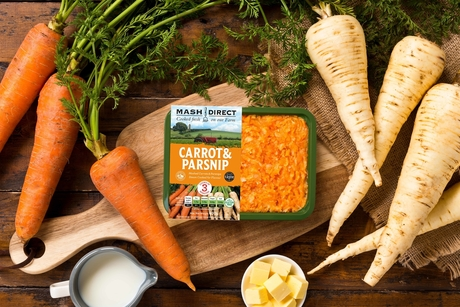 Mash Direct phasing out black plastic packaging