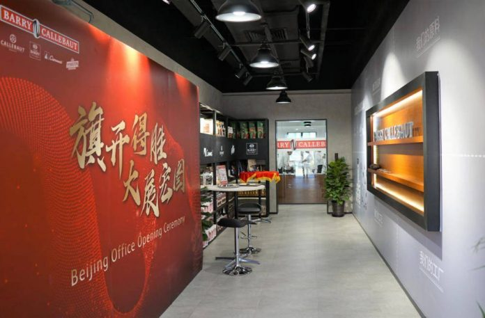 Barry Callebaut expands China presence with Beijing centre