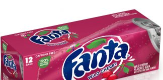 Fanta launches Wild Cherry flavour
