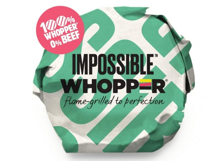 Burger King add Impossible Burger to menu