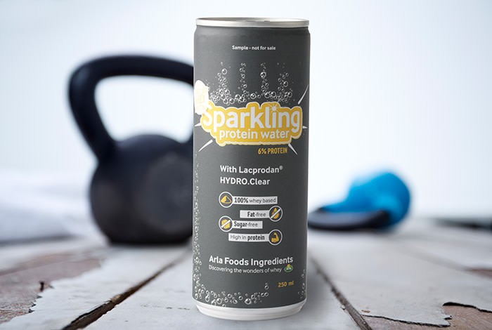 Arla launches sparkling whey protein drink