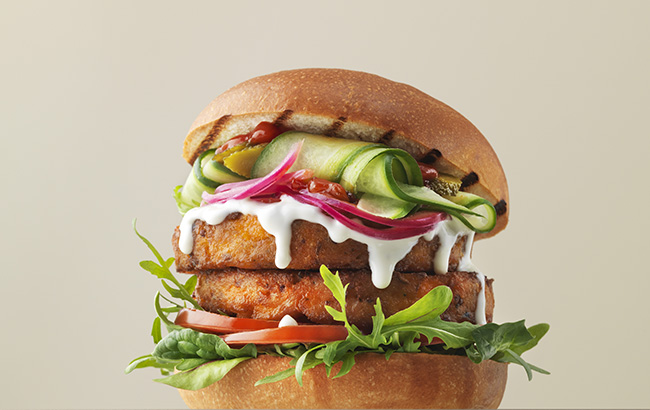 Waitrose launch UK's first seitan burger