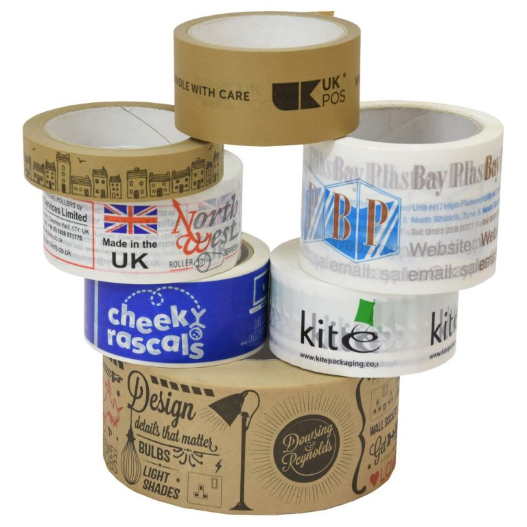 Get your brand out there with custom printed tape